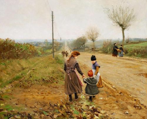 Børn på landevej