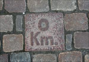 0-km sten Odense