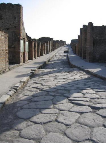 Romerveje: Gade i Pompeii