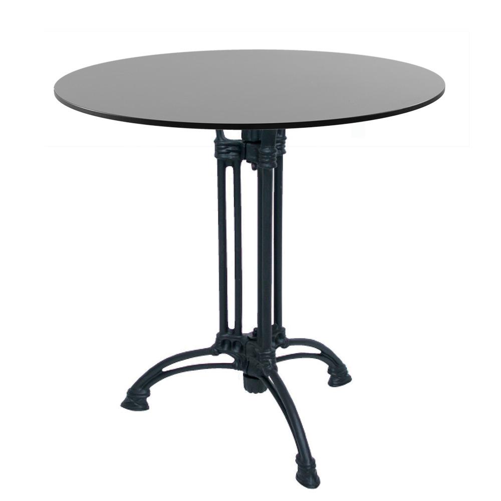 Tavolo bistrot con base quadrata o rettangolare in ghisa ...
