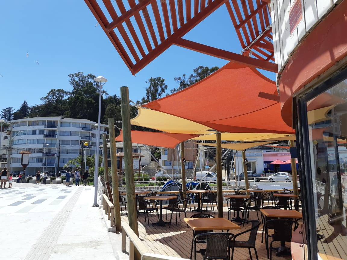 Velas de sombra Cecconi Restaurant