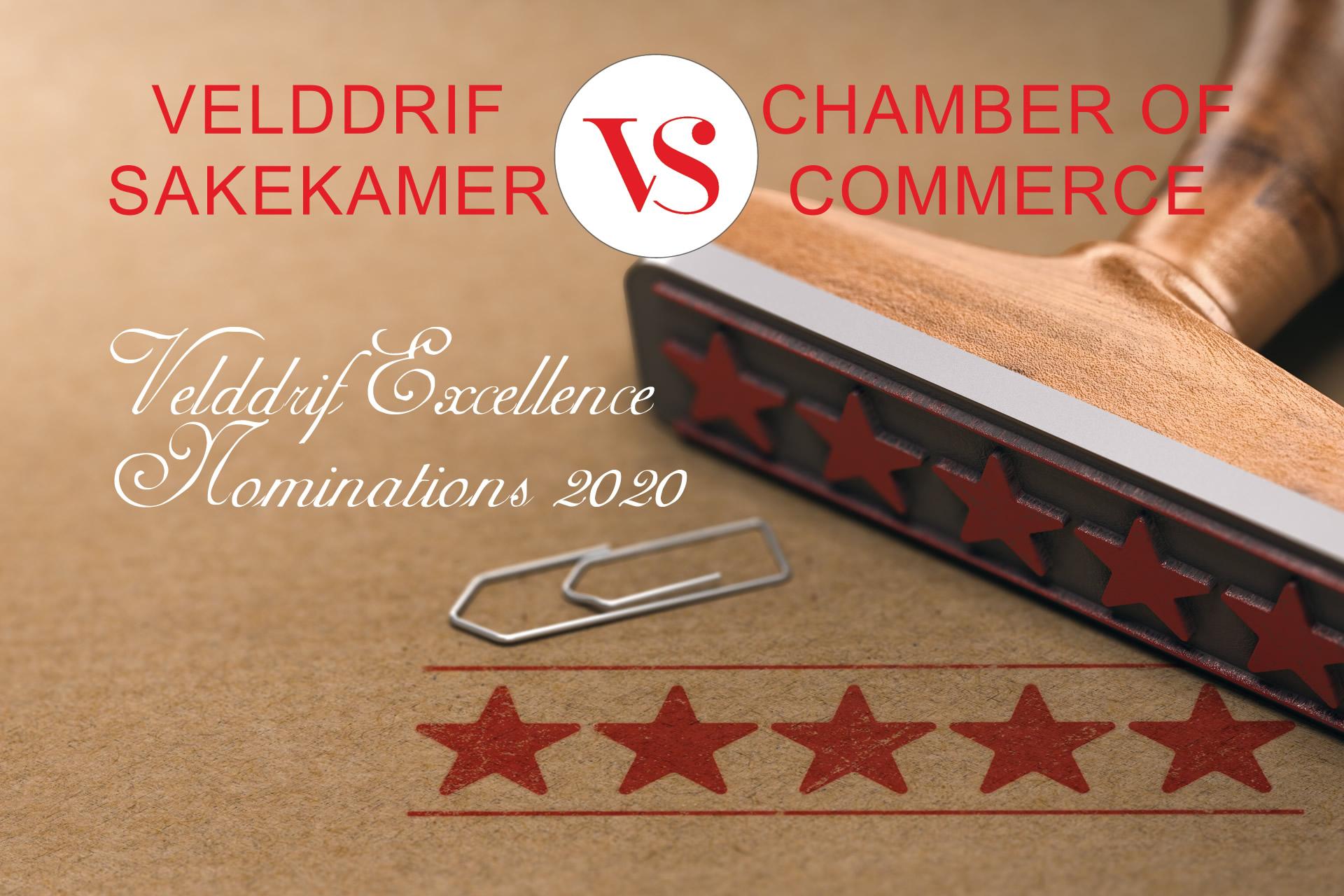 Velddrif Chamber of Commerce Excellence Nominations 2020