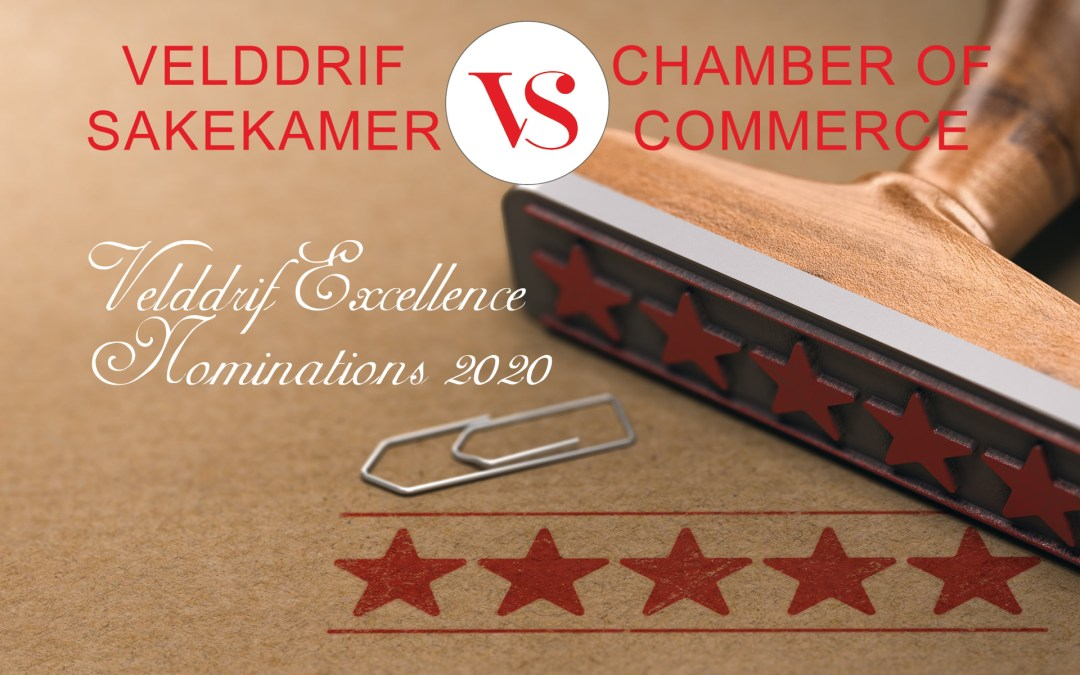 Velddrif Chamber of Commerce Excellence Nominations 2020