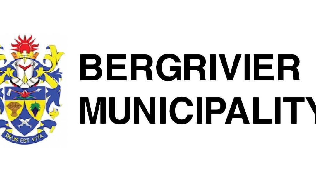 Urgent district request Bergrivier municipality
