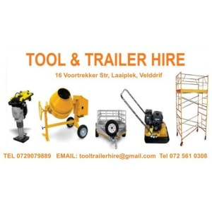 Tool and Trailer Hire in Velddrif