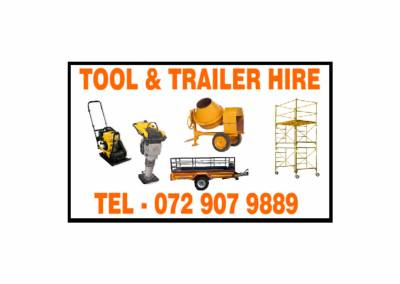 TOOL & TRAILER HIRE