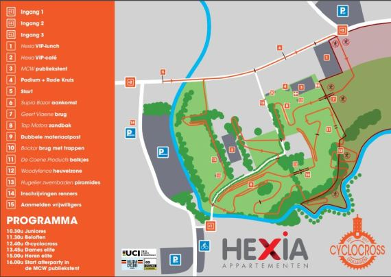 Image result for cyclocross gullegem parcours