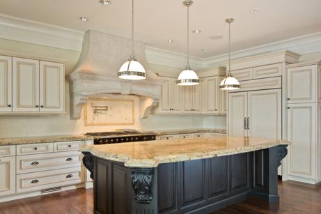 Kitchen Island Granite Countertop Picture