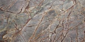 Rainforest Brown Satin