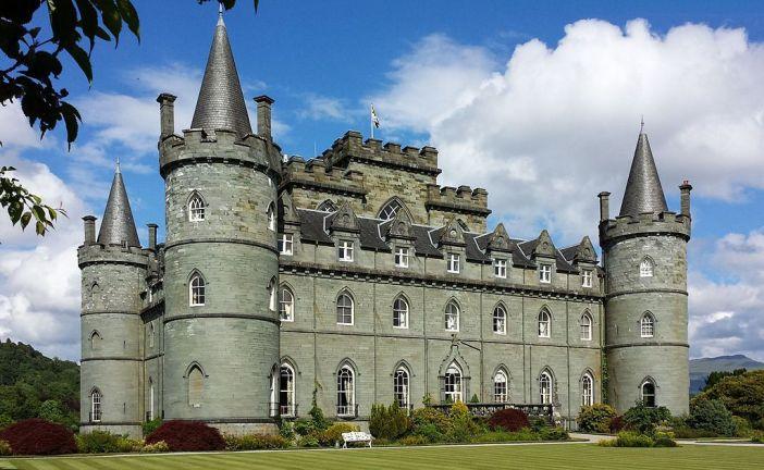 zamek Inveraray skotsko