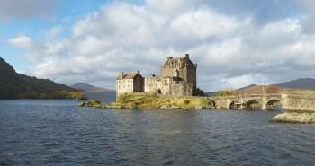 eilean donan skotsko hrad