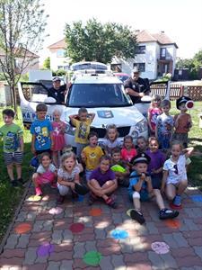 Městská police & Mateřská škola * Návštěva strážníků MěP v MŠ
