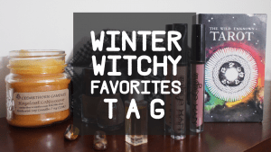 After reading my confessions, you should watch my Witchy Winter Tag video!