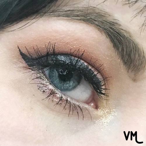 Here is an up close shot of the look I created with the Supernova palette