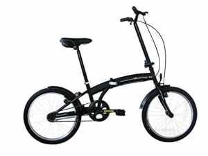 Frejus MICROBIKE PLEGABLE 20″ – Vélo pliant unisex 1 vitesse, acier, noir