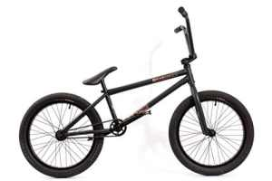 KHE BMX Vélo Silencer BL Noir 9,8kg seulement.
