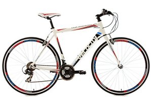 KS Cycling Velocity Vélo de route Blanc 28″
