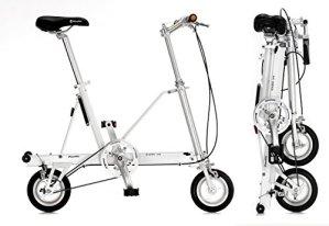 Vélo pliant CarryMe SD (Sans Engrenages) Blanc