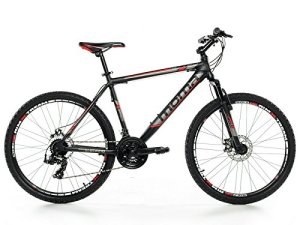 Vélo Tout Terrain 26″ VTT SHIMANO, aluminium, double disque et suspension