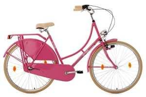 Ks Cycling 329H Tussaud Vélo de ville Rose 28″
