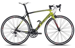 Legnano vélo 500course lG34Carbon 2x 10V taille 49Noir Vert (course route)/Bicycle 500course lG34Carbon 2x 10V Size 49black green (Road Race)