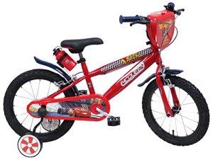 Disney Cars Chrome Vélo Enfant Rouge 16″