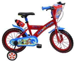 Paw Patrol Pat' Patrouille Vélo Enfant Rouge/Bleu 16″