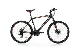 Moma Bikes BIGTTN17 Vélo Vtt Mixte Adulte, Noir, Taille : M