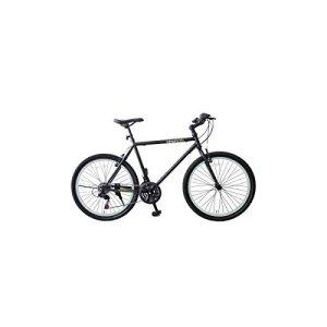 Vélo de ville unisexe avec châssis en aluminium et jantes 26 »fluo XL Bianco