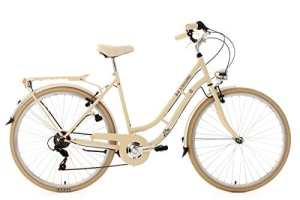 KS Cycling Casino Vélo de ville Beige 28″
