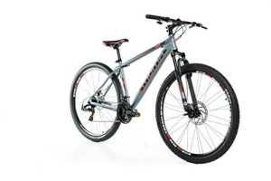 Moma Bikes Vélo VTT, GTT29, Aluminium, Shimano 24V, Freins a Disque, Suspension Avant (Plusieurs Tailles)