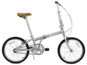FabricBike Vélo pliant, cadre en alliage, mono-vitesse, 3 couleurs (Space Grey)