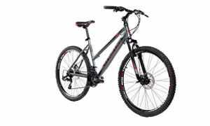 Moma Bikes Vélo VTT, GTW26, Aluminium, Shimano 24V, Freins a Disque, Suspension Avant (Plusieurs Tailles)