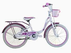 Coppi RM2D20000.24BI Vélo ctb pour Enfant Fille, Blanc, Taille : 20 Pouces