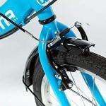 Moma Bikes II Blue Vélo de Ville Pliant First Class 20″, Aluminium, Shimano 6V, Selle Comfort Mixte Adulte, Bleu, Unique