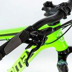 Moma Bikes Peak Vélo VTT 29″, Aluminium, Altus 27V, Freins a Disque Hydraulique Shimano, Suspension Avant avec bloquage Mixte Adulte, Vert, XL