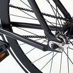 Moma Bikes , Vélo de Ville, Fixie Munich Glam, Aluminium (Plusieurs Tailles)