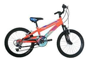 Coppi RM2U20206BA.27AR Vélo btt pour Enfant Garçon, Orange, Taille : 20 Pouces