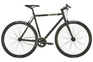 FIXIE Inc. Blackheath – Vélo de Ville – Noir/Kaki Hauteur de Cadre 60cm 2018 Velo Ville Femme