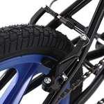 KS Cycling BMX Freestyle xtraxx Vélo, noir/bleu, 20