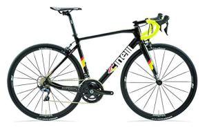 Cinelli Superstar Vélo à Coulisse 19″, Mixte, 039CBKUX570, Diamant Noir, XL
