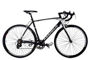 KS Cycling 236R Vélo de Course Homme, Noir, 28
