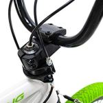 KS Cycling BMX Freestyle 20» Bliss Blanc-Vert