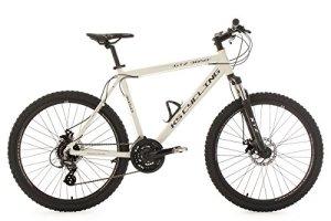 KS Cycling Gtz VTT semi rigide Blanc 26″