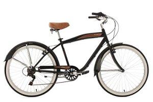 KS Cycling Vélo Cruiser Noir 26″