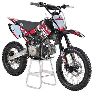 M2R Racing km140mx 140 cc 17/14 86 cm Rouge Big Moto Roues