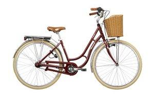 Vermont Saphire – Vélo de ville – 7-vitesse rouge Taille de cadre 45 cm 2016 velo ville femme
