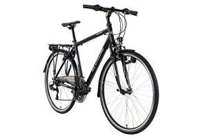KS Cycling VTC Homme 28» Aluminium Canterbury Noir TC 58 cm
