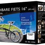 Symex Vélo pliant 16″ 6 vitesses Shimano – Couleur Rouge