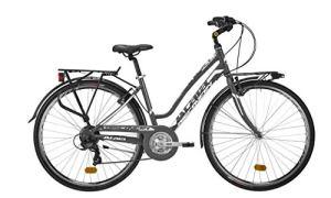 Atala 2020 Discovery Vélo de ville pour femme, 21 vitesses, anthracite, blanc, taille 49 (M)
